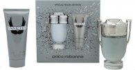 Paco Rabanne Invictus Geschenkset 100ml EDT + 100ml All Over Shampoo