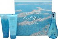 Davidoff Cool Water Geschenkset 30ml EDT + 75ml Body Lotion