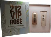 Carolina Herrera 212 VIP Rosé Geschenkset 80ml EDP Spray + 100ml Body Lotion
