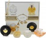 Lancome Precious Collection Miniatures Geschenkset 7ml Cacharel Noa + 7.5ml Lancome Tresor + 4ml Ralph Lauren Safari + 4.8ml Paloma Picasso + Armband