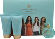 Made in Chelsea by Made in Chelsea Geschenkset 50ml EDP + 150ml Duschcreme+ 150ml Schimmer Lotion