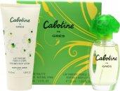 Gres Parfums Cabotine Geschenkset 30ml EDT + 50ml Körperlotion