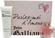John Galliano Parlez-Moi dAmour Geschenkset 50ml EDT + 125ml Körperlotion