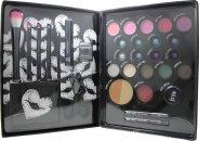 Jigsaw Perfect Colour Ultimate Make Up Kit Geschenkset - 30 Teile (Bronzers + Rouges+ Lidschatten + Kajal + Lippenbalsam + Lippengloss + Mascara + Wimpernzange + Applikatoren)