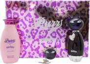 Katy Perry Purr Geschenkset 50ml EDP + 120ml Körperlotion + Festes Parfum
