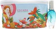 Escada Born In Paradise Geschenkset 30ml EDT Spray + Tasche