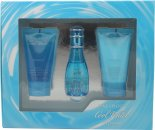 Davidoff Cool Water Geschenkset 30ml EDT + 50ml Körperlotion + 50ml Duschgel