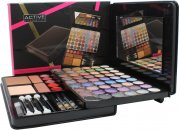 Active Glamour Face Folio Compact - 54 Lidschatten + 1 Puder + 2  Rouge + 5 Lipglosse + 3 Stifte & Pinsel Set