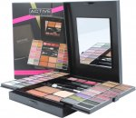 Active Glamour Endless Colour Compact mit Spiegel - 36 Lidschatten + 4 Lippenstifte + 2 Blusher + 1 Bronzer Puder + 1 Eyeliner + Applikatoren