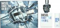 Diesel Only The Brave Geschenkset 35ml EDT + 50ml Duschgel