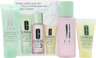 Clinique 3-Step Skincare Geschenkset 50ml Liquid Facial Soap Oily Skin Formula + 100ml Clarifying Lotion 3 Combination Oily + 30ml Dramatically Different Moisturizing Gel Combination Oily To Oily