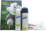 Dana Golf Sport Geschenkset 200ml EDT + 200ml Deodorant Spray + Sporthandtuch