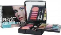 Jigsaw Perfect Colour The Look Make Up Set - 20 Teile (Lidschatten + Lippengloss + Rouge + Applikatoren)