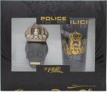 Police To Be The King Geschenkset 40ml EDT Spray + 100ml All Over Body Shampoo