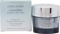 Estee Lauder CyberWhite Brilliant Cells Night Brightening Moisture Creme 50ml