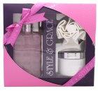 Style & Grace Luxury Retreat Geschenkset - 500ml Luxury Bath Cream + 170ml Body Butter + Duschblume (2015)