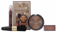Sunkissed Sunlight Bronze Geschenkset - Bronzing Puder + Blusher + Lip gloss + Bronzing Pinsel