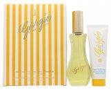 Giorgio Beverly Hills Giorgio Yellow Geschenkset 90ml EDT + 50ml Körperlotion