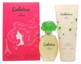 Gres Parfums Cabotine Geschenkset 100ml EDT + 200ml Körperlotion
