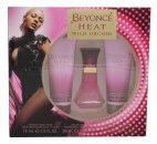Beyonce Heat Wild Orchid Geschenkset 30ml EDP + 75ml Körperlotion + 75ml Duschgel