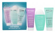 Biotherm Aquasource Day Tripper Geschenkset 20ml Biosource Cleanser + 30ml Biosource Lotion + 20ml Aquasource Gel