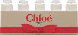 Chloe Miniaturen Geschenkset 2 x 5ml Chloe EDP + 2 x 5ml Roses de Chloe EDT + 5ml L'Eau de Chloe EDT