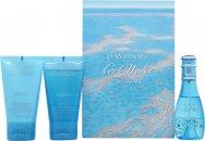 Davidoff Cool Water Woman Geschenkset 30ml EDT + 50ml Shower Breeze + 50ml Body Lotion