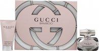 Gucci Bamboo Gift Set 75ml EDP + 100ml Body Lotion + 100ml Shower Gel