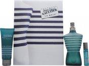 Jean Paul Gaultier Le Male Geschenkset 125ml EDT + 75ml All-Over Duschgel + 9ml Taschenspray