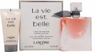 Lancome La Vie Est Belle L'Eau de Parfum Geschenkset 50ml Spray + 50ml Körperlotion
