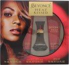 Beyoncé Heat Kissed Geschenkset 30ml EDP + 75ml Body Lotion + 75ml Duschgel