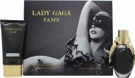 Lady Gaga Fame Geschenkset 50ml EDP + 75ml Körperlotion