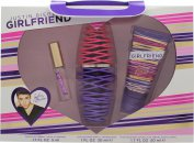 Justin Bieber Girlfriend Geschenkset 30ml EDP + 50ml Body Lotion + 5ml EDP Rollerball