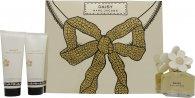Marc Jacobs Daisy Geschenkset 50ml EDT + 75ml Body Lotion + 75ml Duschgel