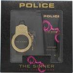 Police The Sinner Geschenkset 30ml EDT + 100ml Body Lotion