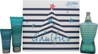 Jean Paul Gaultier Le Male Geschenkset Duschgel 125ml EDT Spray + 75ml Duschgel + 30ml Aftershave Balsam