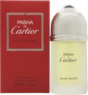 Pasha de Cartier Eau de Toilette 50ml Spray