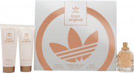 Adidas Born Original for Her Geschenkset 50ml EDP + 75ml Body Lotion + 75ml Duschgel