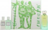 Hermes Un Jardin Sur Le Nil Geschenkset 100ml EDT + 40ml Body Lotion + 40ml Duschgel