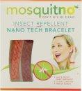 MosquitNo Insektenschutzmittel Nano Armbänder Rot & Orange