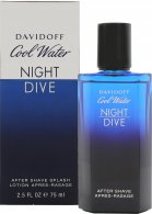 Cool Water Night Dive Aftershave 75ml