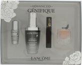 Lancome Genifique Geschenkset 30ml Advanced Serum + 4ml La Vie Est Belle EDP + 2ml Hypnôse Mascara + 5ml Génifique Eye Pearl