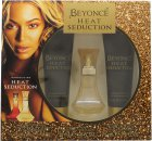 Beyoncé Heat Seduction Geschenkset 30ml EDT + 75ml Body Lotion + 75ml Duschgel