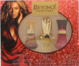 Beyonce Geschenkset 15ml Heat EDP + 15ml Rise EDP + 15ml Wild Orchid EDP