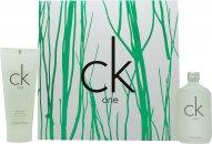 Calvin Klein CK One Geschenkset 50ml EDT + 100ml Body Wash