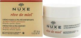 Reve de Miel Ultra Comfortable Day Face Cream 50ml - Trockene/Sensible Haut