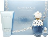 Marc Jacobs Daisy Dream Geschenkset 100ml EDT + 150ml Body Lotion + 4ml EDT