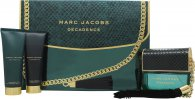 Marc Jacobs Decadence Geschenkset 100ml EDP + 75ml Body Lotion + 75ml Duschgel