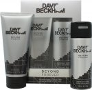 David & Victoria Beckham Beyond Forever Geschenkset 200ml Duschgel + 150ml Deodorant Spray