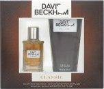 David Beckham Classic Geschenkset 40ml EDT + 200ml Duschgel